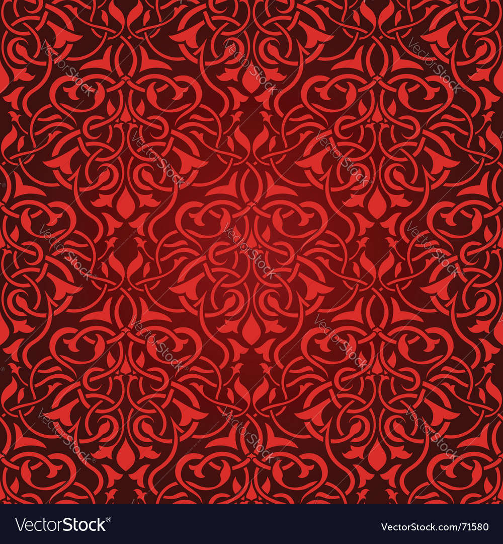Red seamless wallpaper vector   Price: 1 Credit (USD $1)