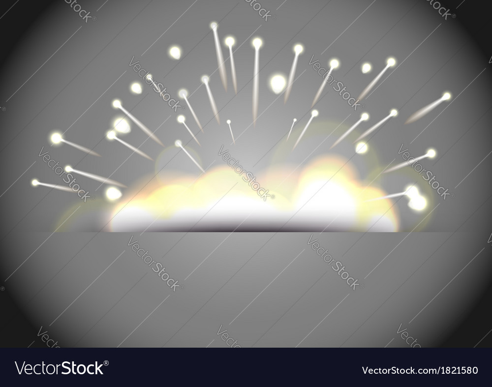 Sparkles explosion - bright background vector | Price: 1 Credit (USD $1)