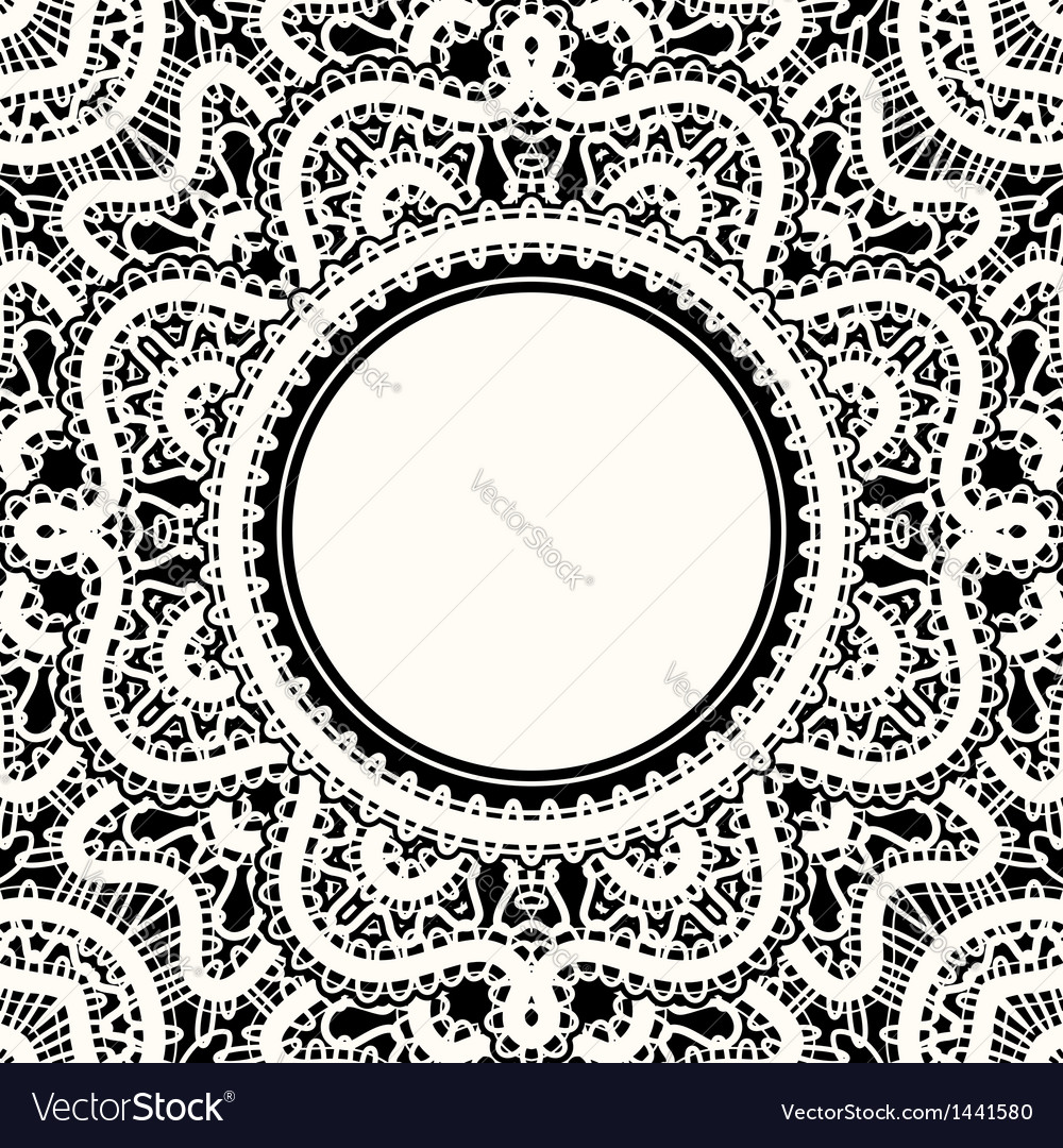 White lace vector | Price: 1 Credit (USD $1)