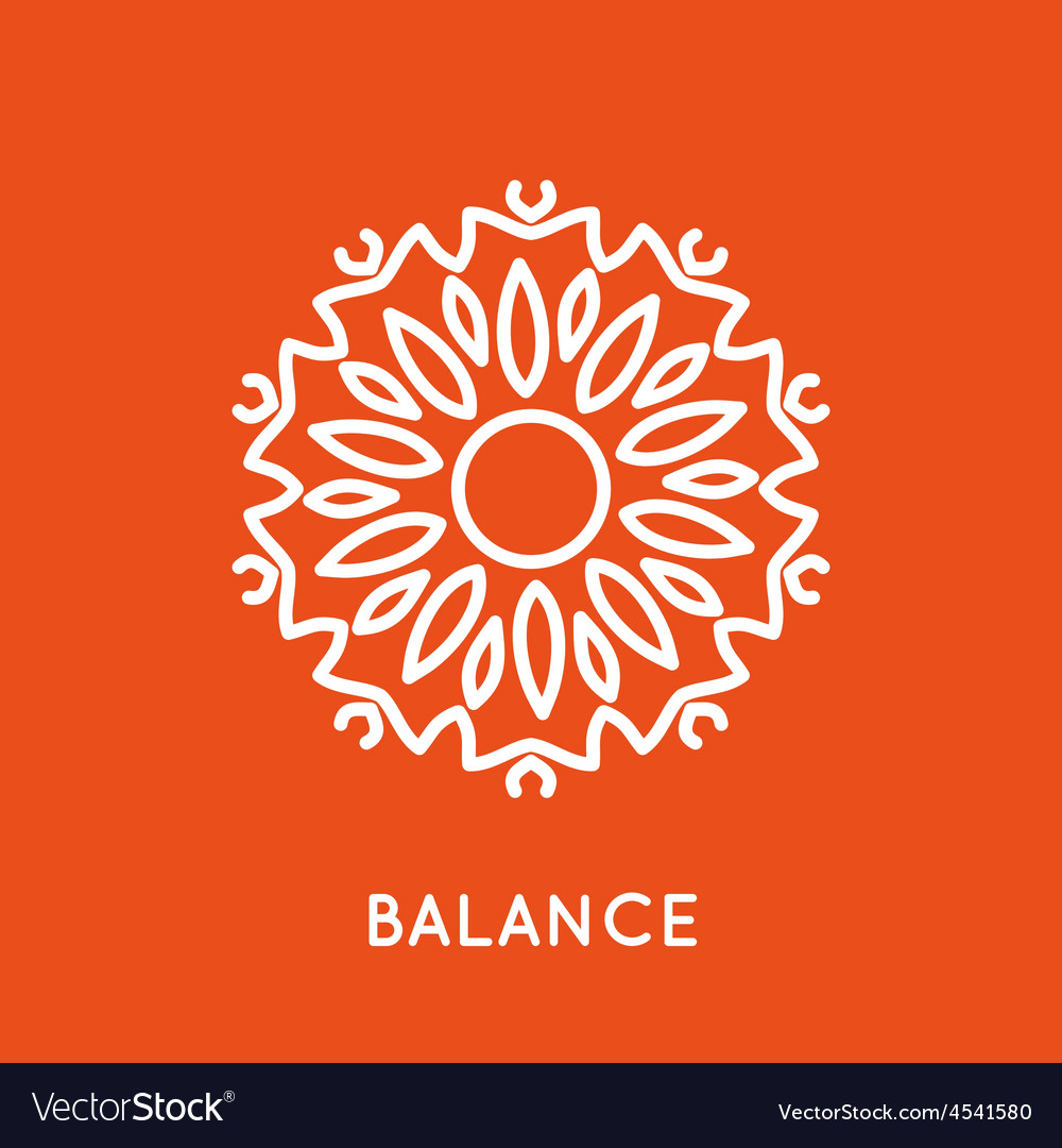 Yoga logo template vector | Price: 1 Credit (USD $1)