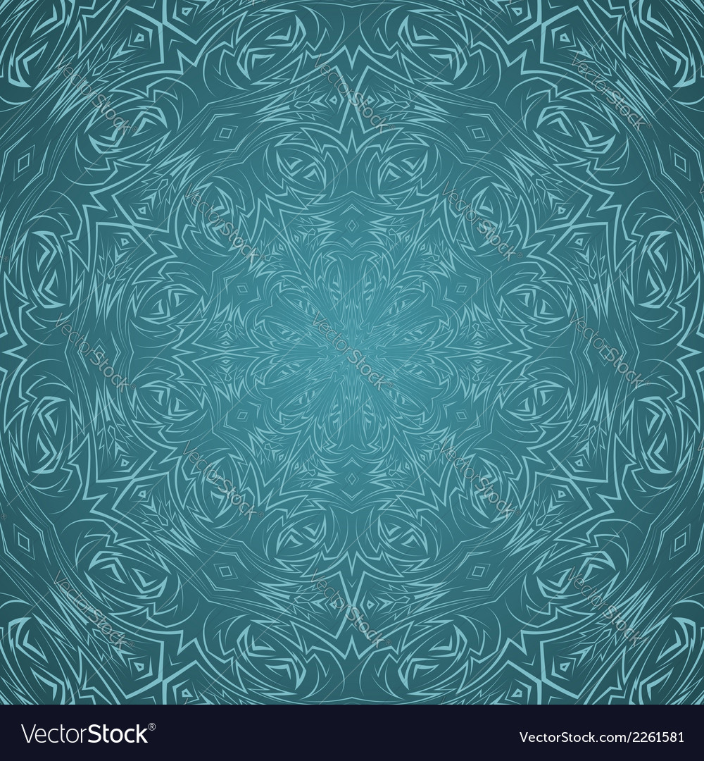 Abstract pattern in cyan vector | Price: 1 Credit (USD $1)