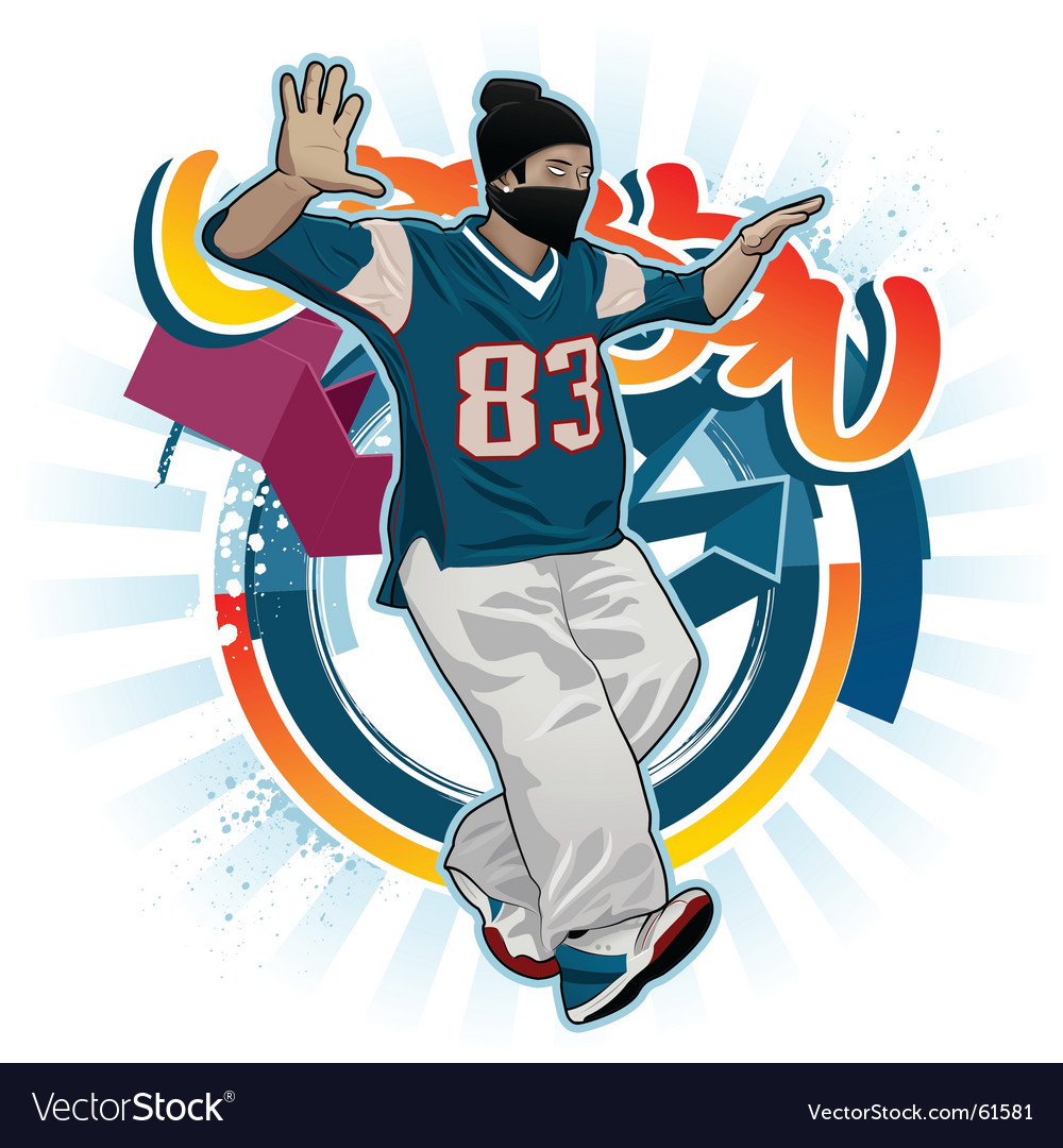 Breakdance vector | Price: 3 Credit (USD $3)