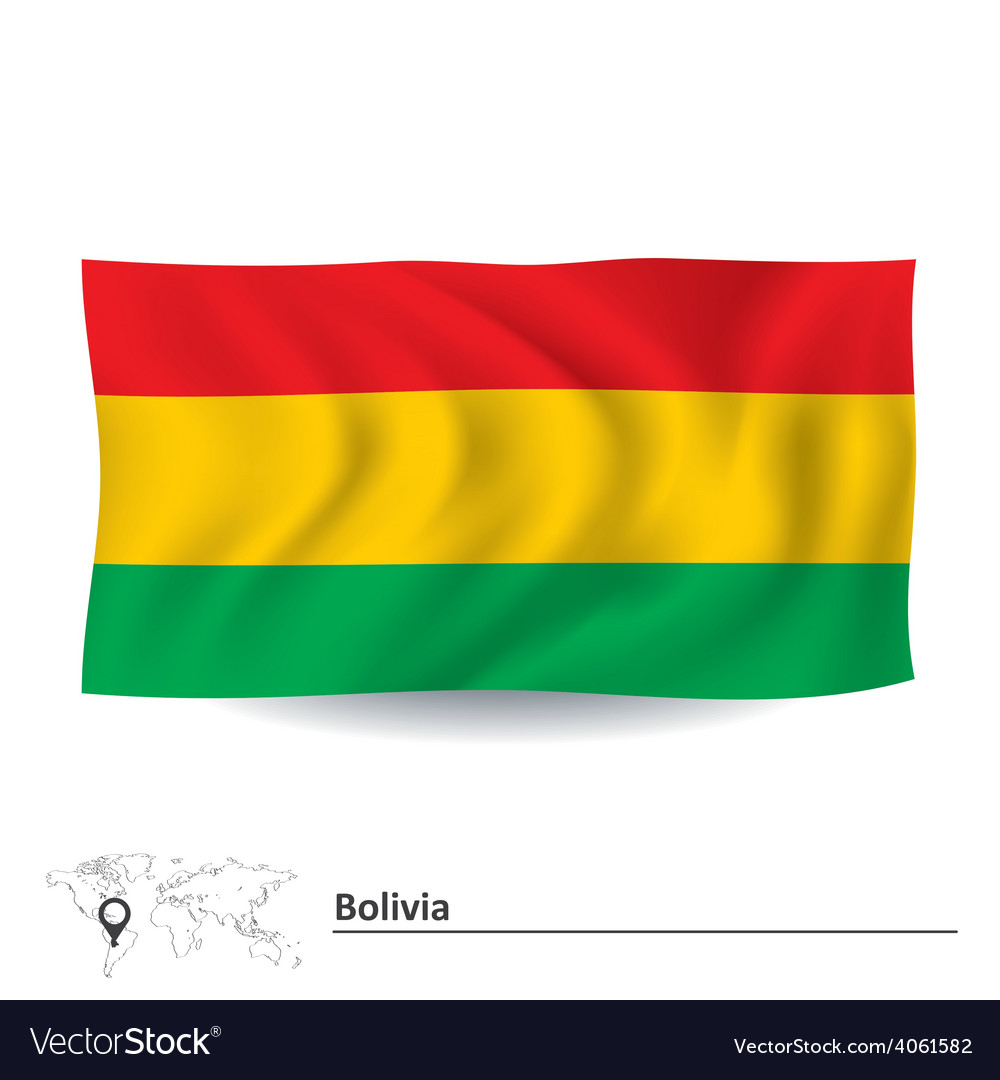 Flag of bolivia vector   Price: 1 Credit (USD $1)