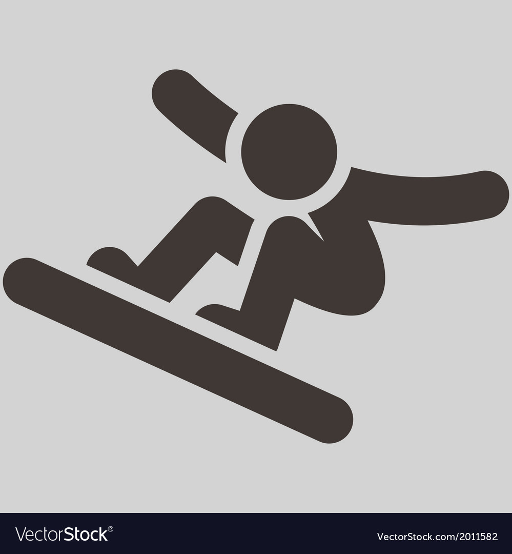 Snowboard icon vector | Price: 1 Credit (USD $1)