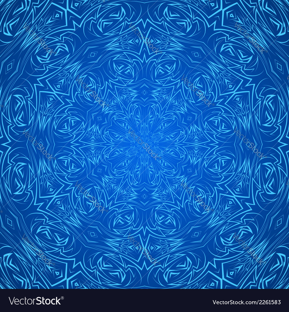 Abstract pattern in blue vector | Price: 1 Credit (USD $1)