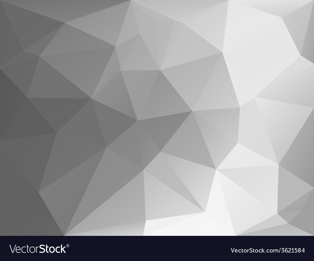 Black and white triangle abstract background vector | Price: 1 Credit (USD $1)