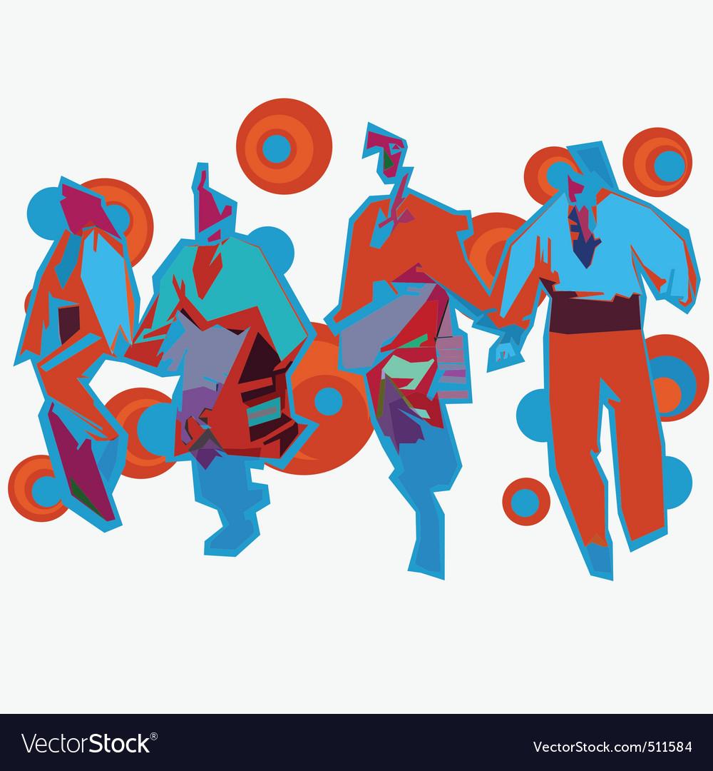 Bulgarian dance vector | Price: 1 Credit (USD $1)
