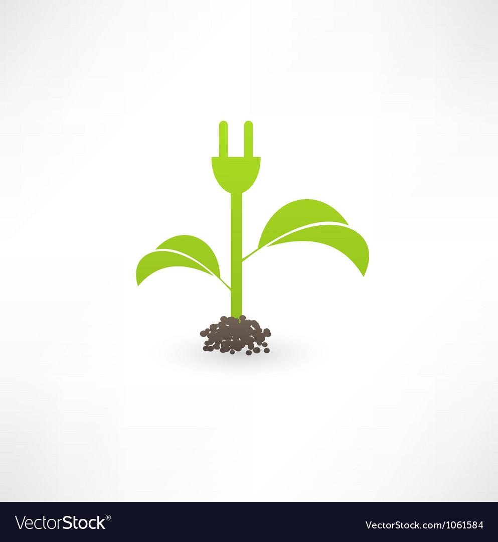 Eco green energy vector | Price: 1 Credit (USD $1)