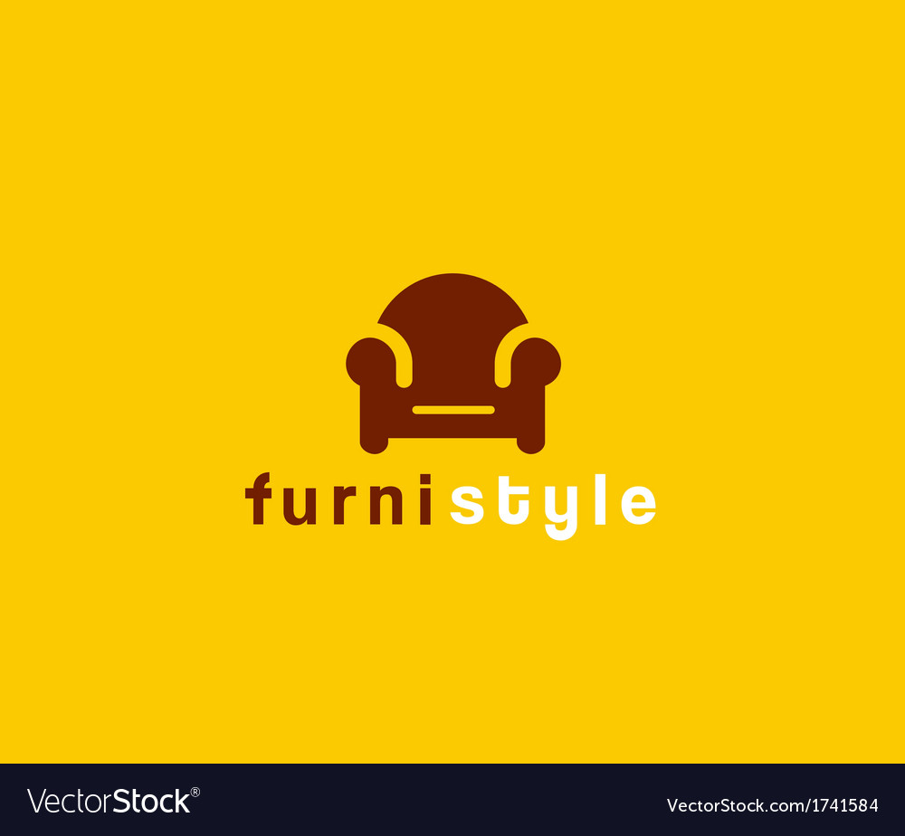Furniture symbol vector | Price: 1 Credit (USD $1)