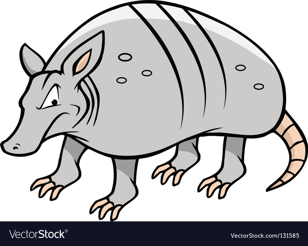 Armadillo vector | Price: 1 Credit (USD $1)