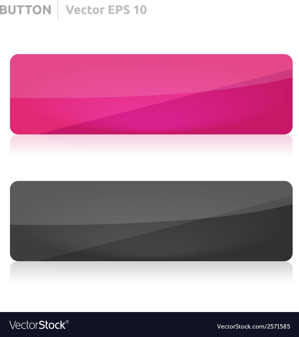 Button template web pink and dark vector | Price: 1 Credit (USD $1)