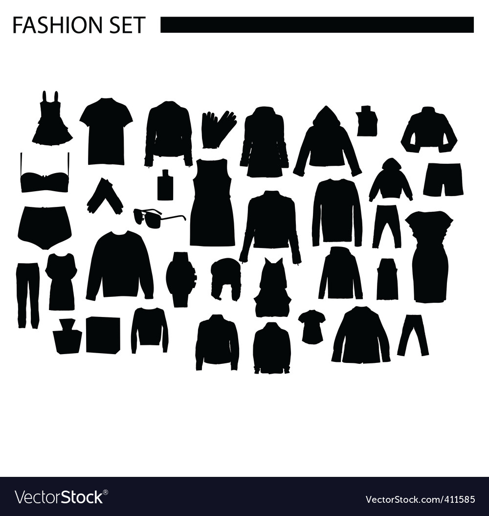 Fashionset vector   Price: 1 Credit (USD $1)