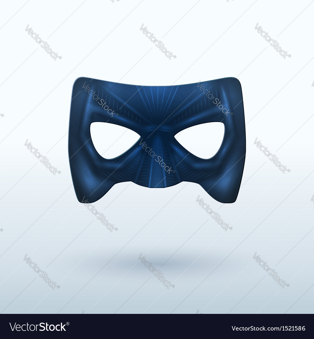 Black leather mask for superhero vector | Price: 1 Credit (USD $1)