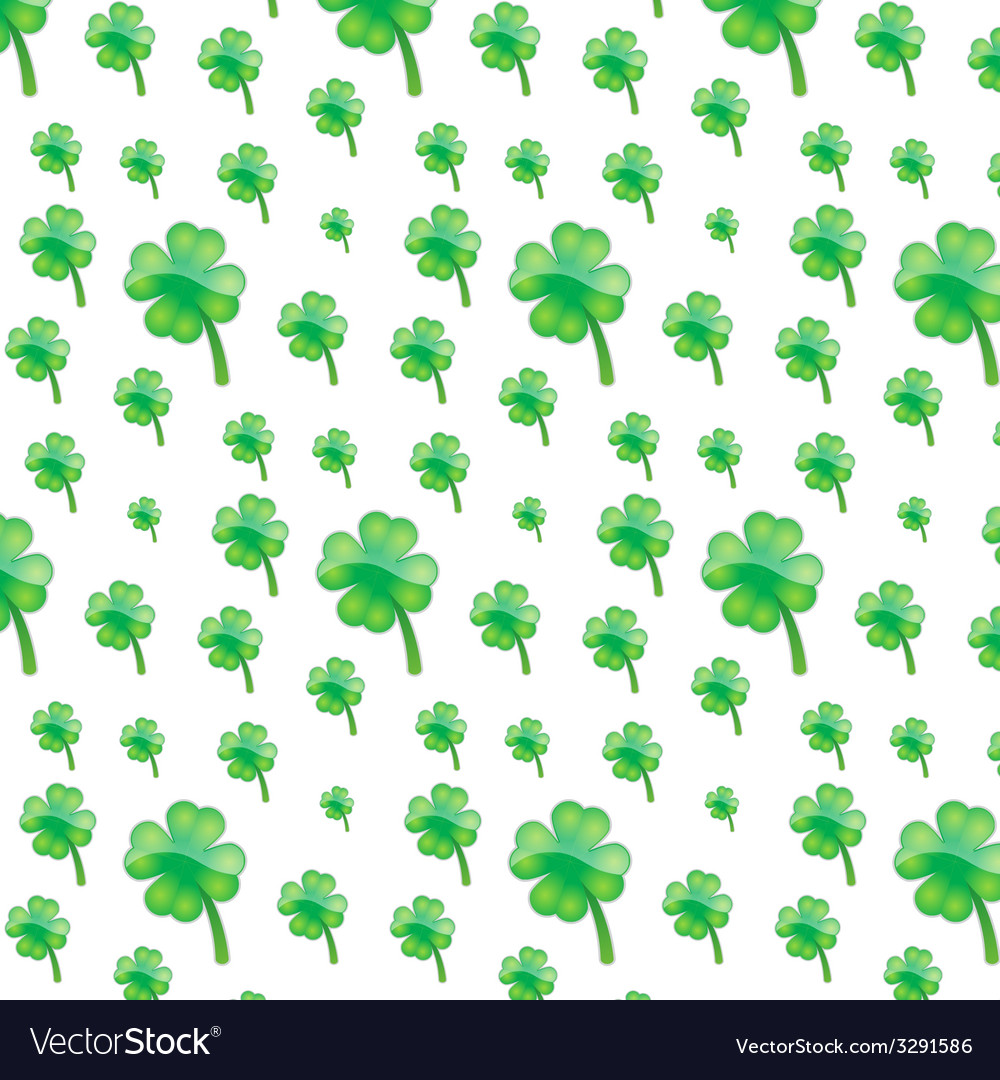Green plant pattern vector | Price: 1 Credit (USD $1)