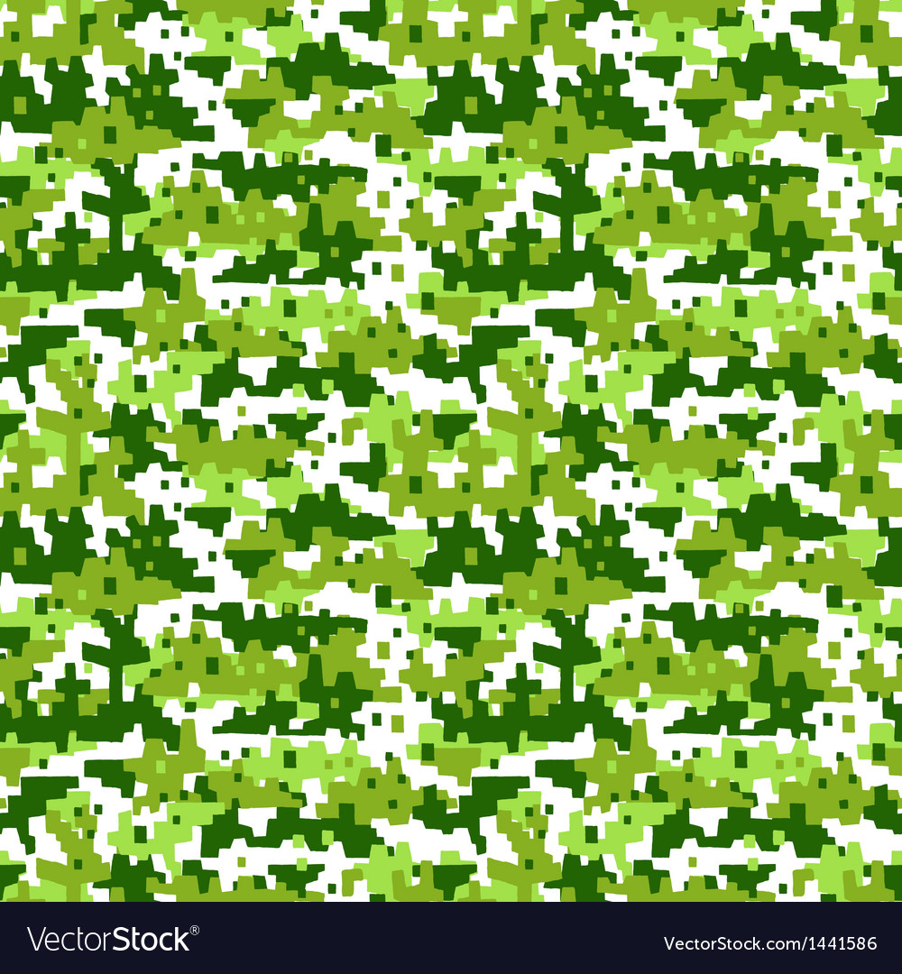 Military camouflage - seamless background vector   Price: 1 Credit (USD $1)