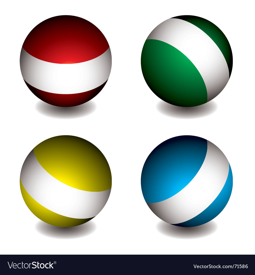 White band orb vector | Price: 1 Credit (USD $1)