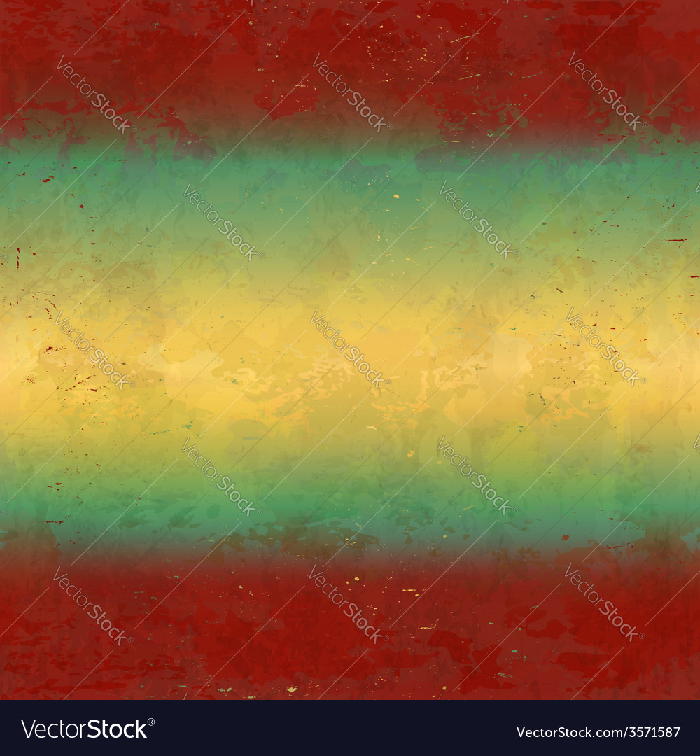 Grungy red and yellow background vector | Price: 1 Credit (USD $1)