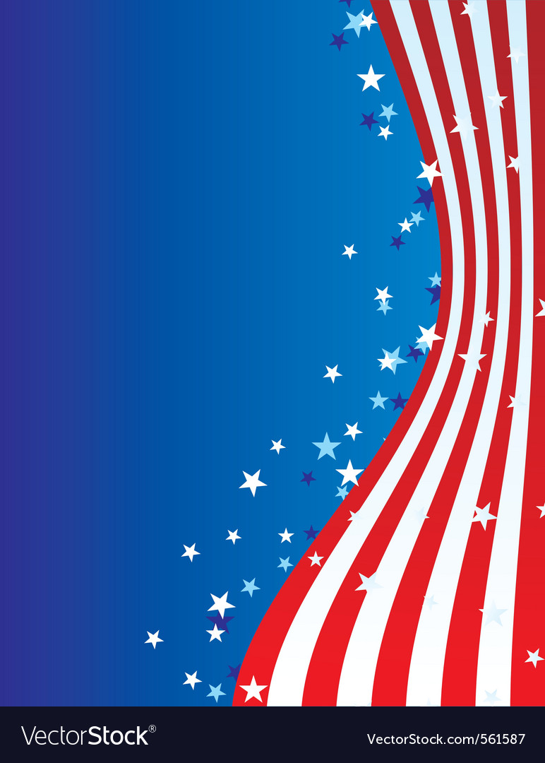 Patriotic america vector | Price: 1 Credit (USD $1)