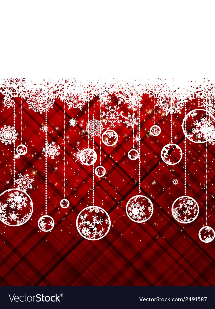 Red christmas background eps 8 vector | Price: 1 Credit (USD $1)