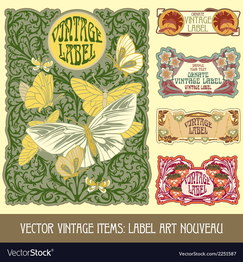 Vintage items vector | Price: 1 Credit (USD $1)