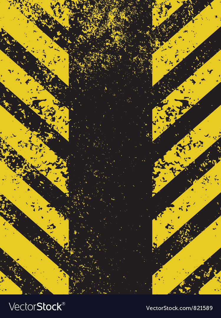 A grungy and worn hazard vector | Price: 1 Credit (USD $1)