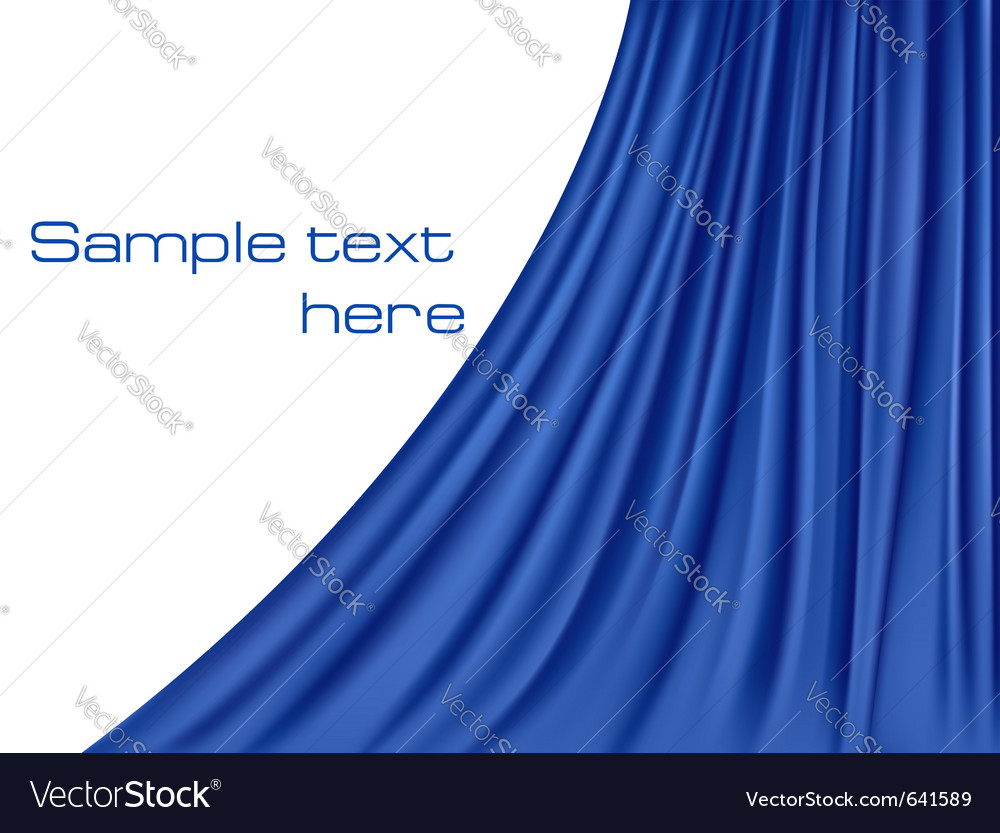 Background with velvet curtain vector | Price: 1 Credit (USD $1)