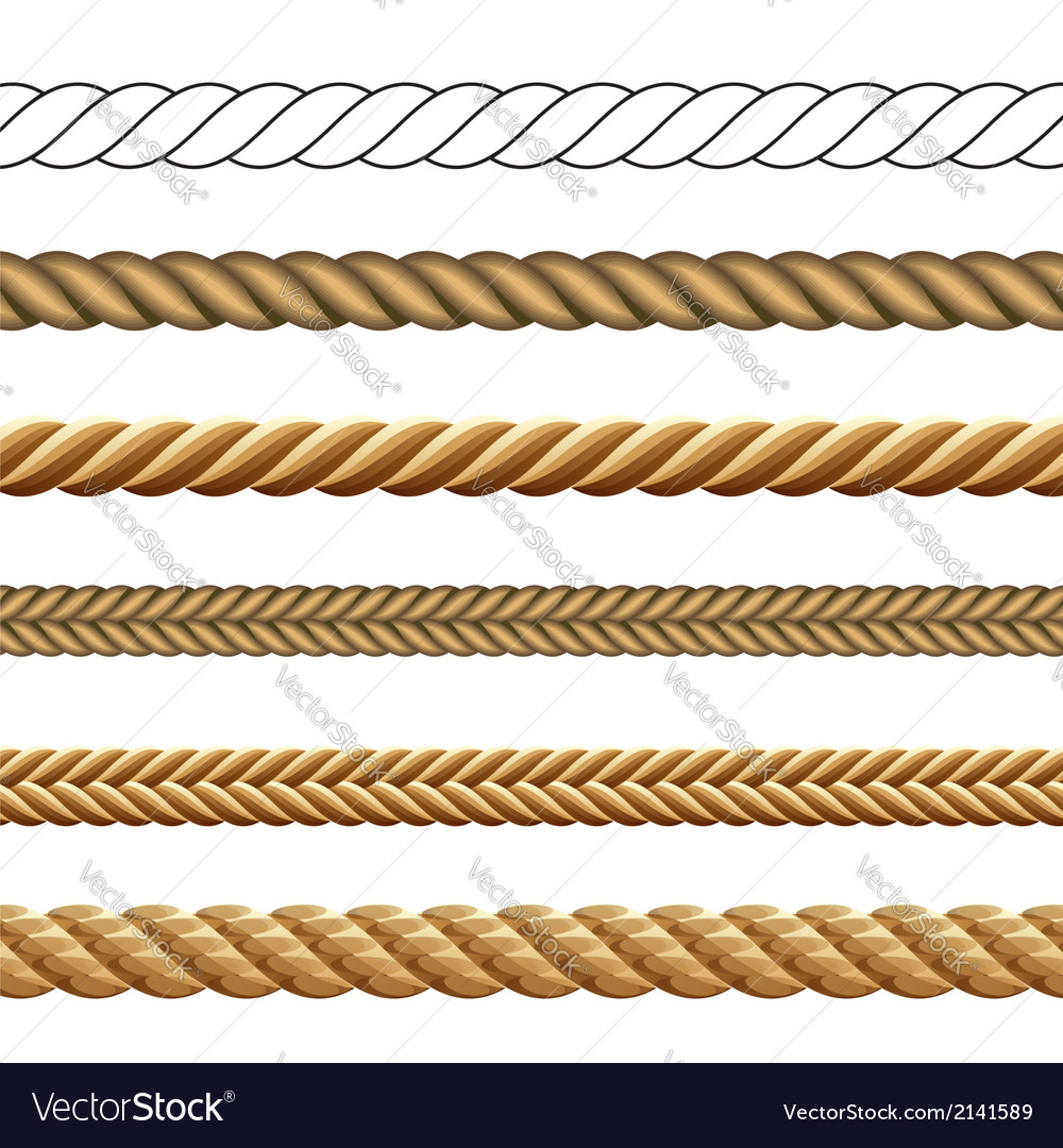 Rope collection vector | Price: 1 Credit (USD $1)