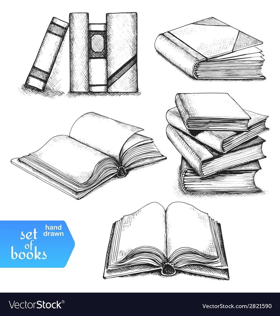 Books set vector   Price: 1 Credit (USD $1)