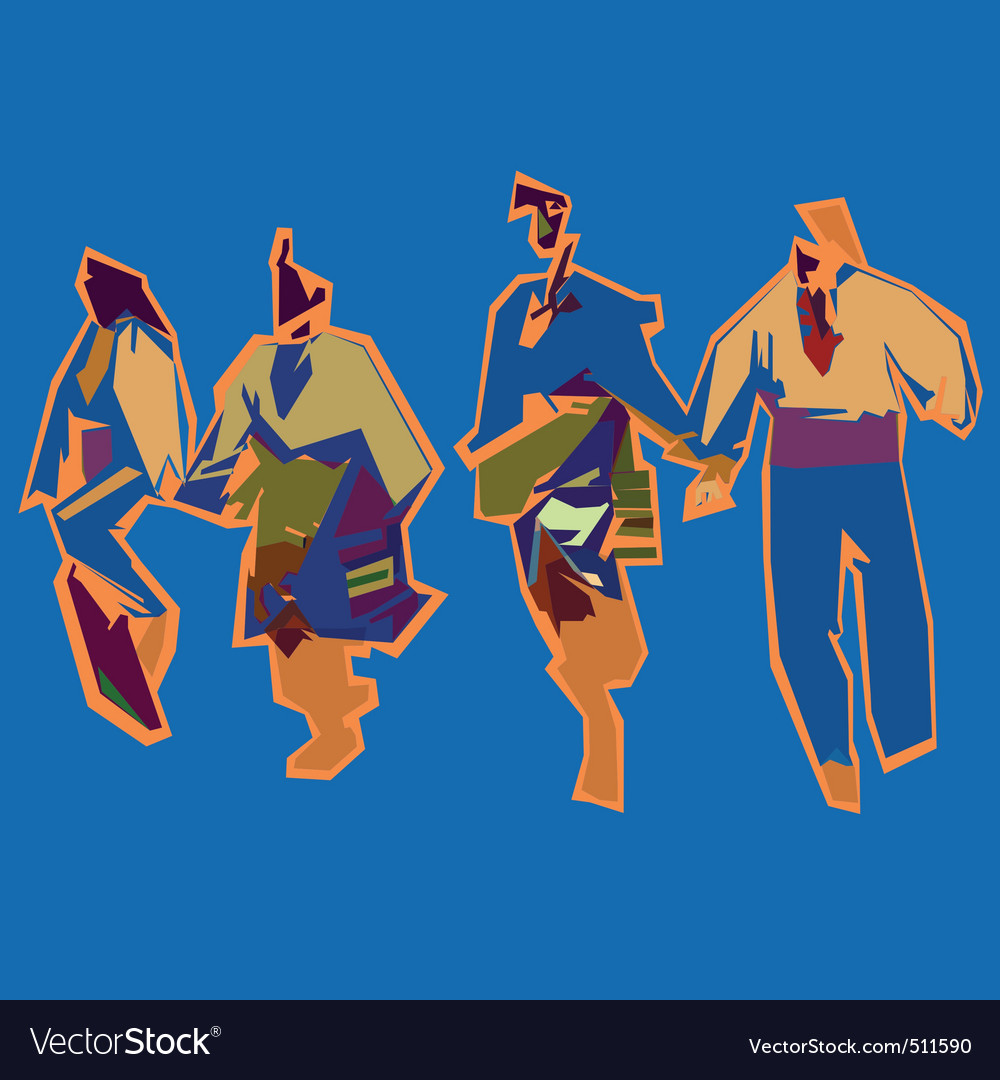 Bulgarian dance vector | Price: 1 Credit (USD $1)
