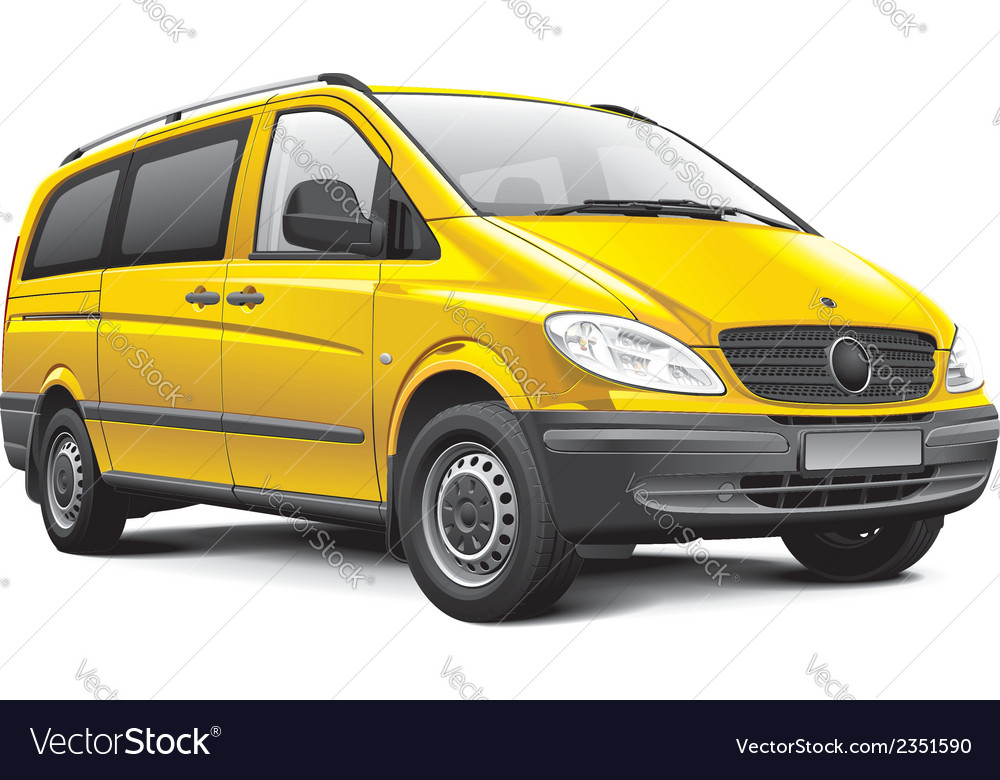 Germany light van vector | Price: 3 Credit (USD $3)