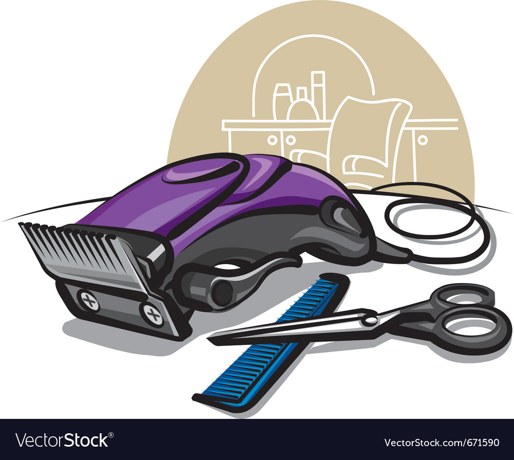 Hair clipper vector | Price: 3 Credit (USD $3)