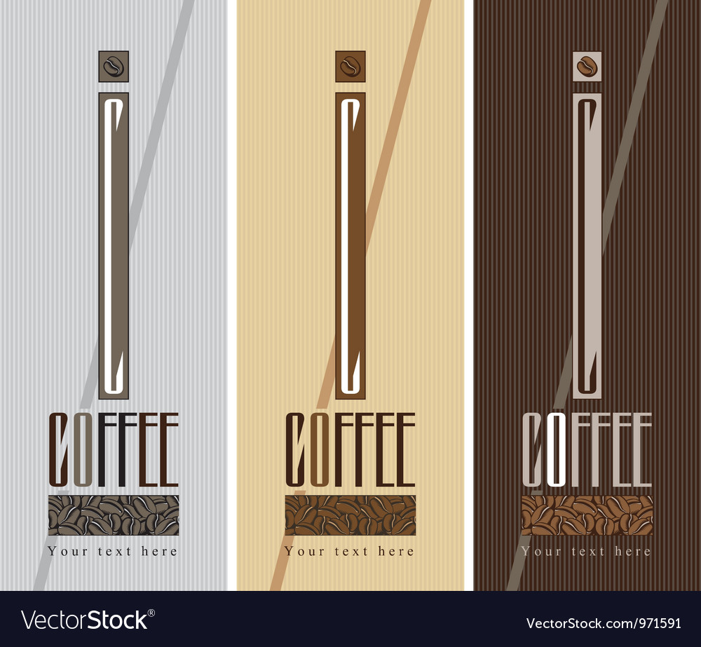 Coffee box vector | Price: 1 Credit (USD $1)