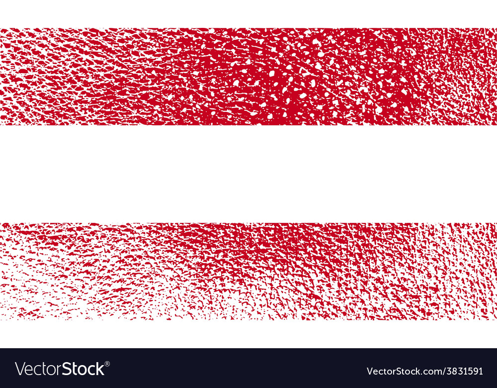 Flag of austria with old texture vector | Price: 1 Credit (USD $1)