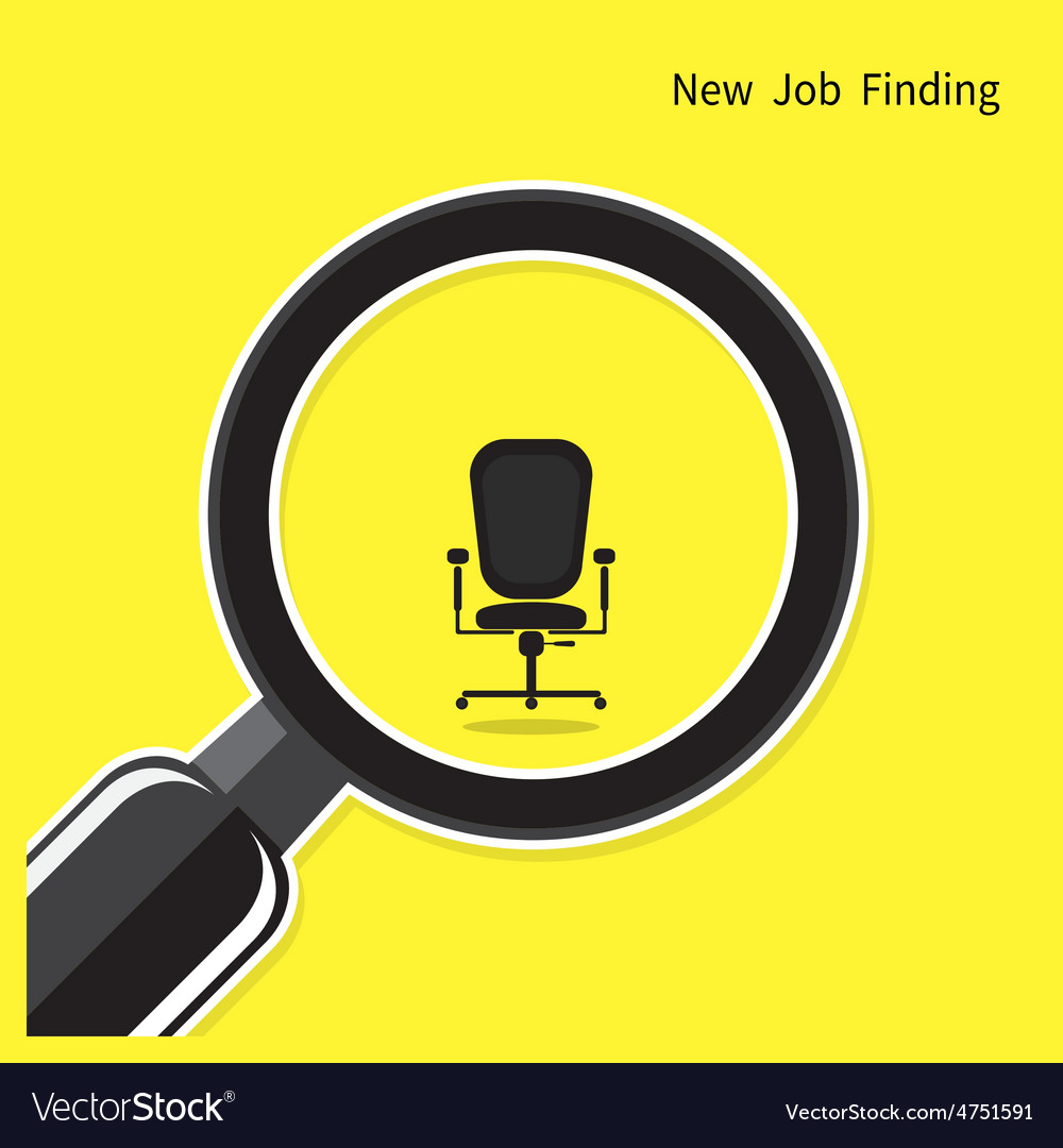 New job finding concept vector | Price: 1 Credit (USD $1)