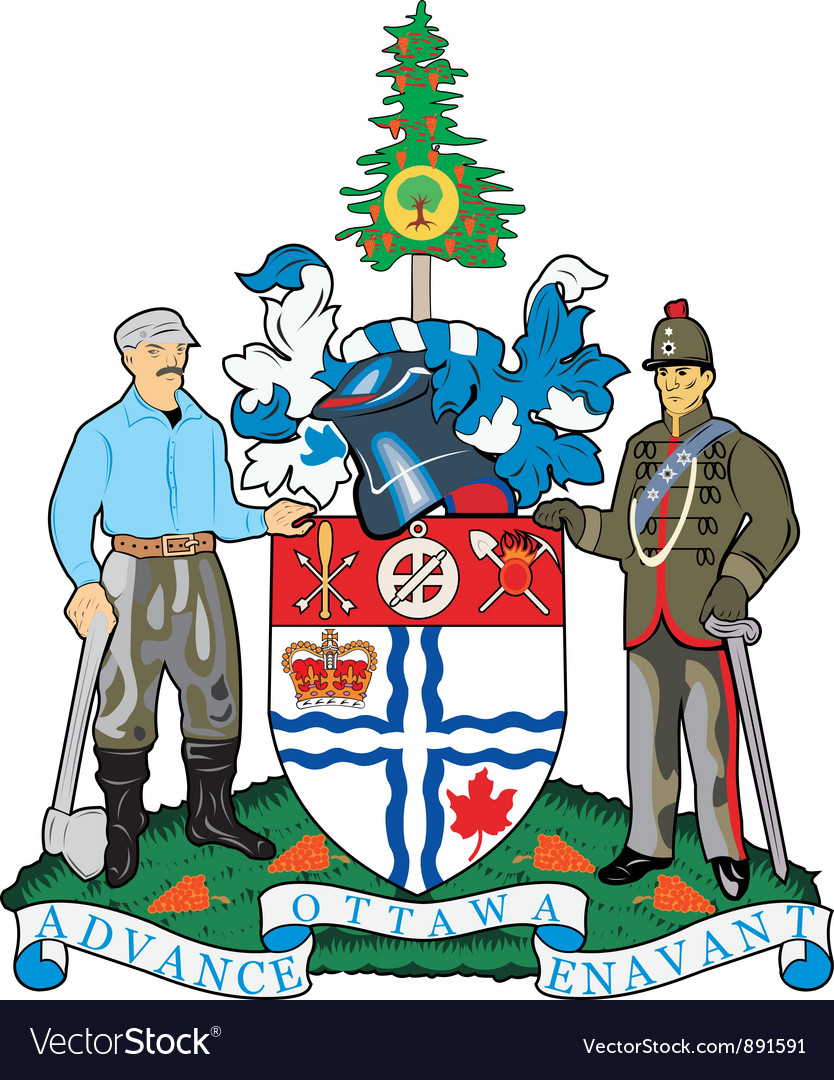 Ottawa city vector | Price: 1 Credit (USD $1)