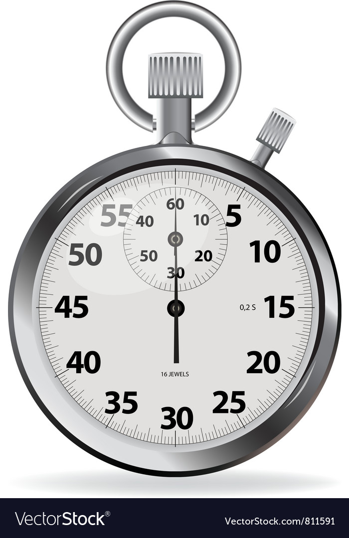 Stopwatch vector | Price: 3 Credit (USD $3)
