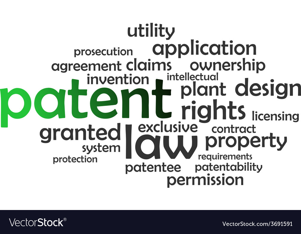 Word cloud patent vector | Price: 1 Credit (USD $1)