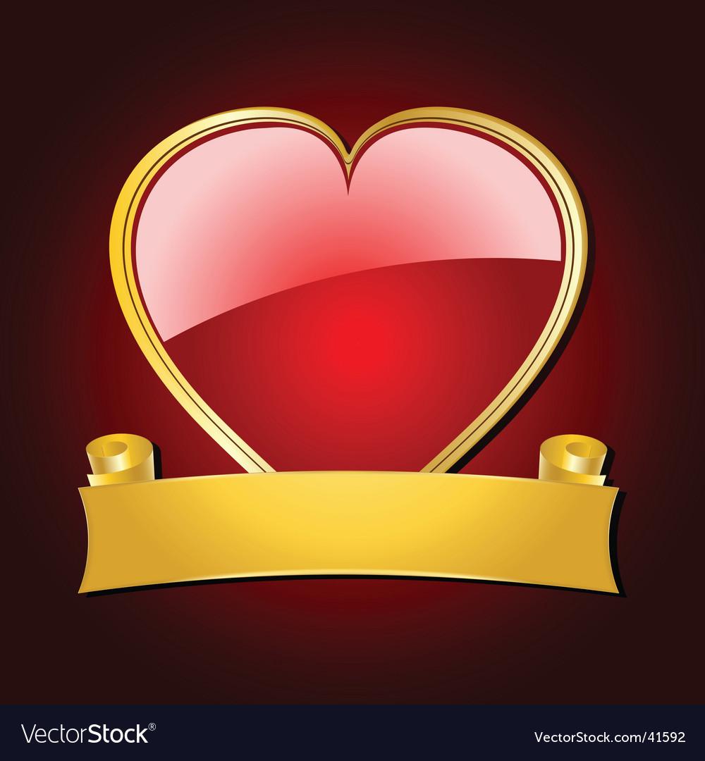 Love heart shield vector   Price: 1 Credit (USD $1)