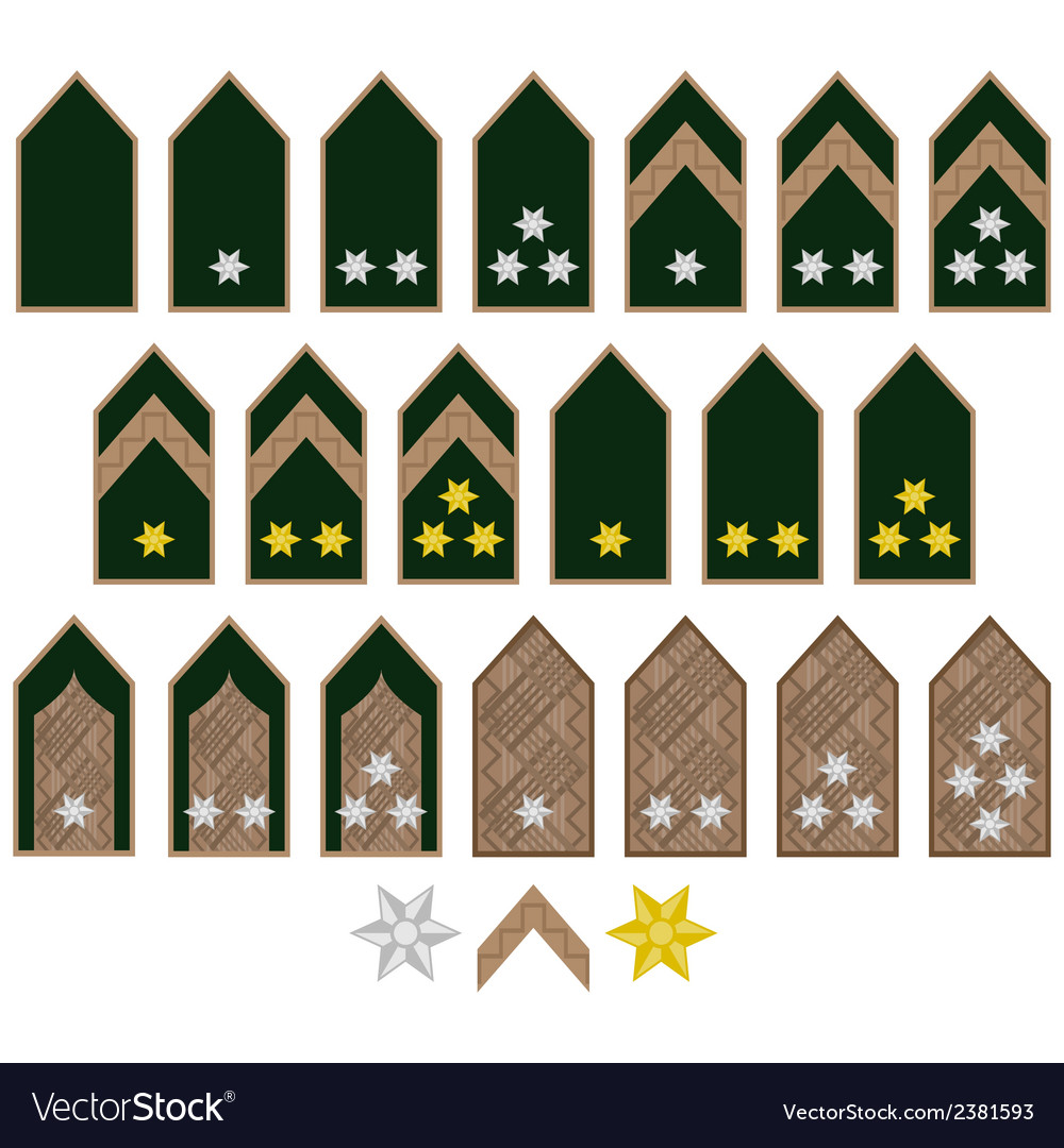 Insignia armed forces hungary vector | Price: 1 Credit (USD $1)