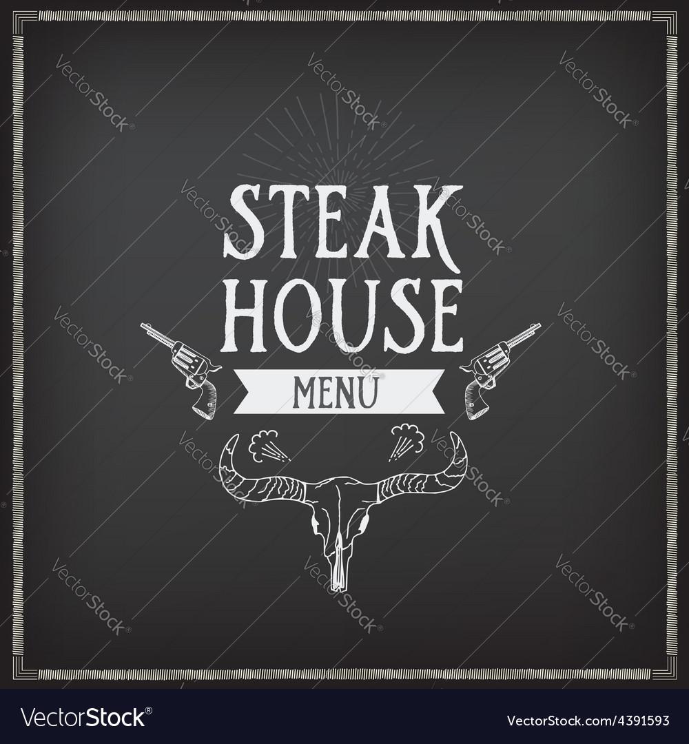 Menu logo template vintage badge food design vector   Price: 1 Credit (USD $1)