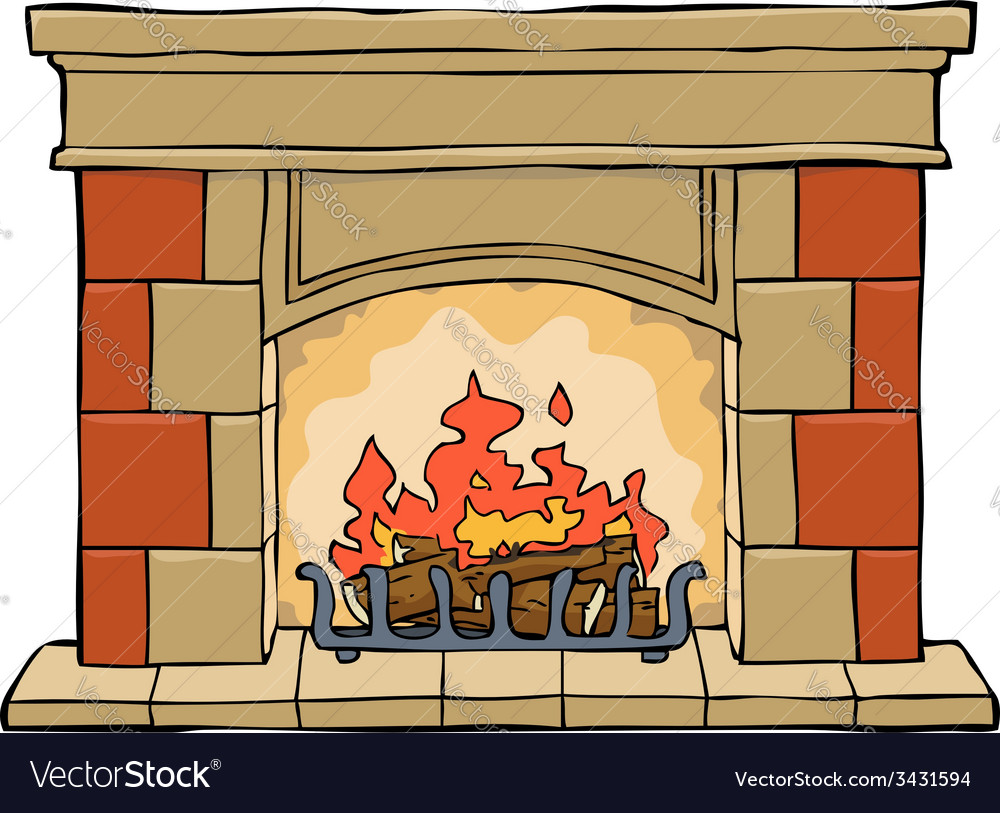 Fireplace vector | Price: 3 Credit (USD $3)