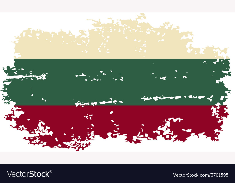 Bulgarian grunge flag vector | Price: 1 Credit (USD $1)