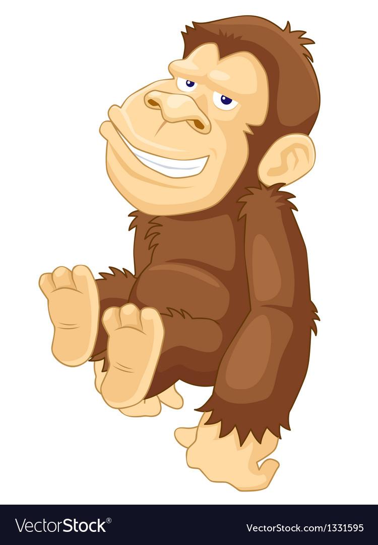 Monkey vector | Price: 3 Credit (USD $3)