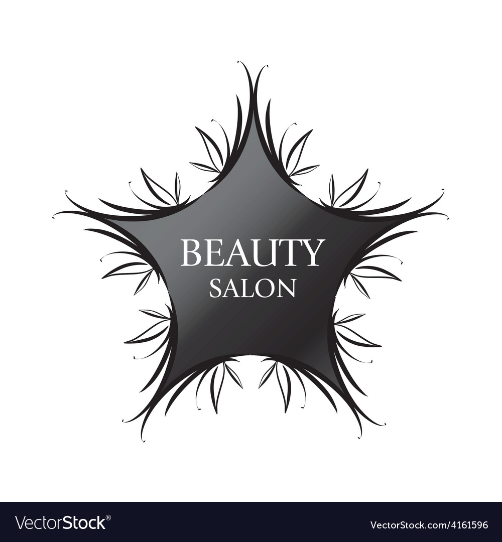 Logo black star for fashion vector | Price: 1 Credit (USD $1)