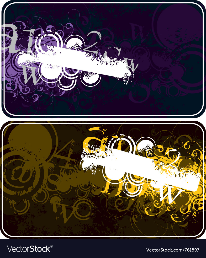 Decorative compositions with figures vector | Price: 1 Credit (USD $1)
