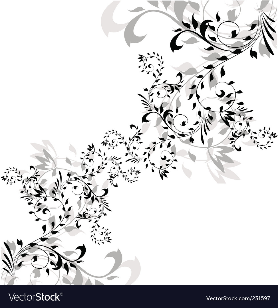 Floral nature vector | Price: 1 Credit (USD $1)