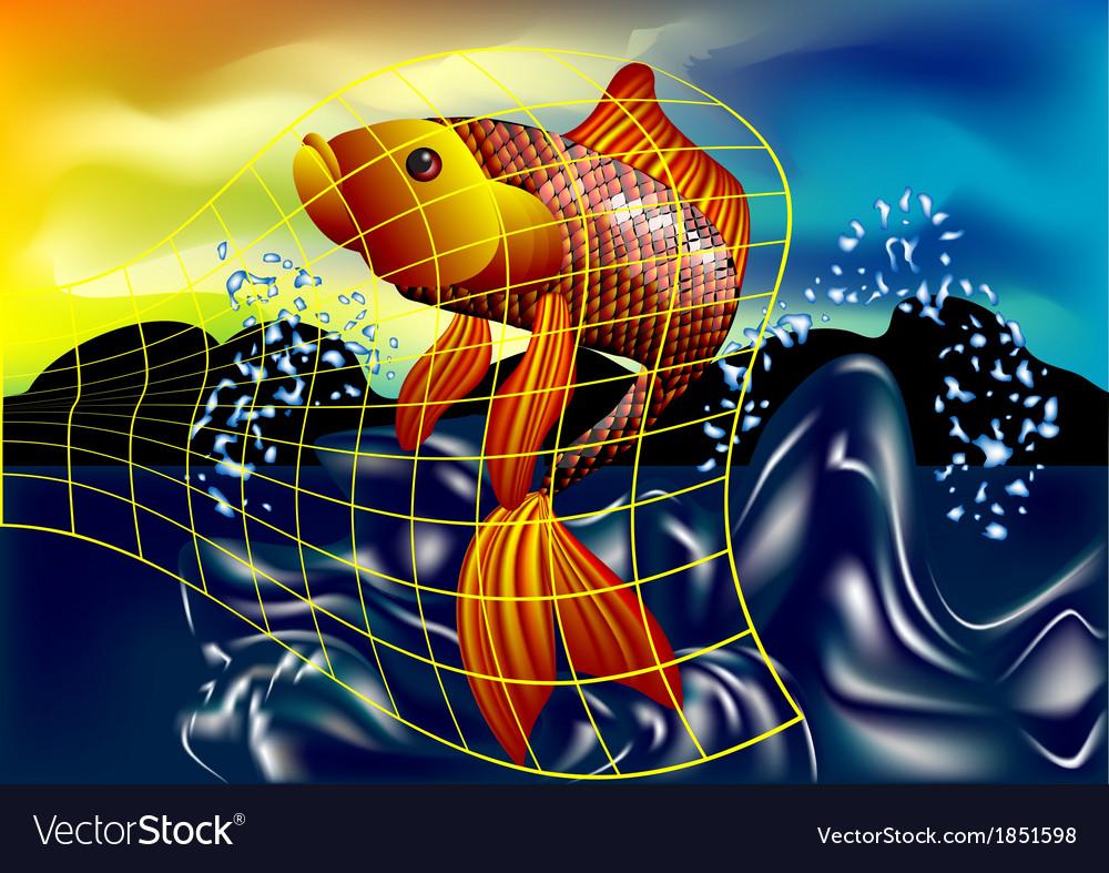 Fish catch vector   Price: 1 Credit (USD $1)
