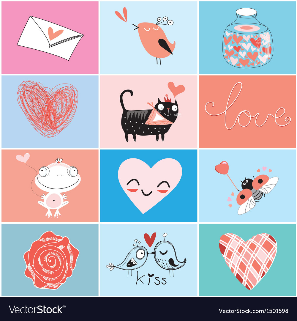 Images valentines day vector | Price: 1 Credit (USD $1)