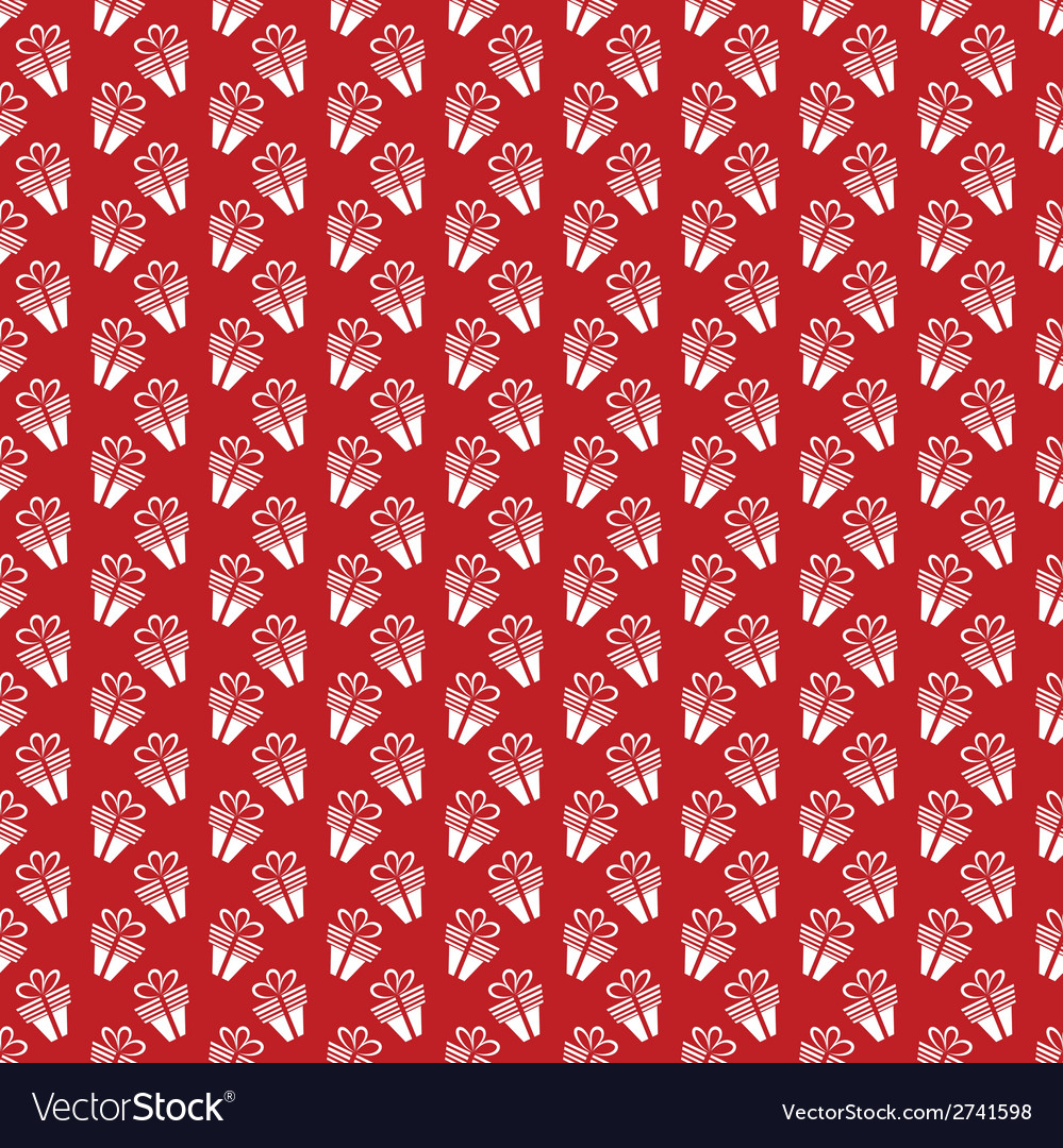 Seamless gift pattern vector | Price: 1 Credit (USD $1)