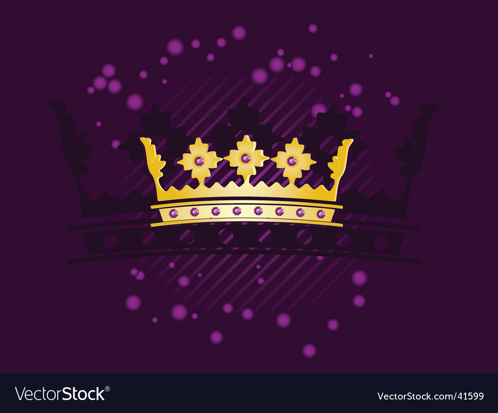 Abstract crown vector | Price: 1 Credit (USD $1)